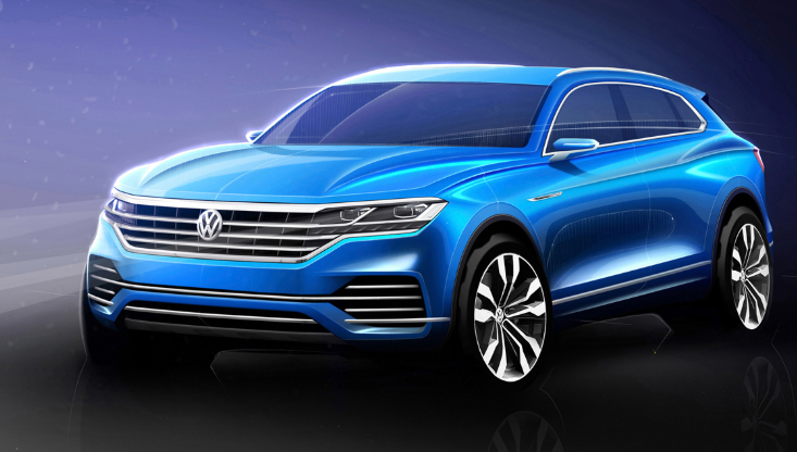 34 The 2020 VW Touareg Engine