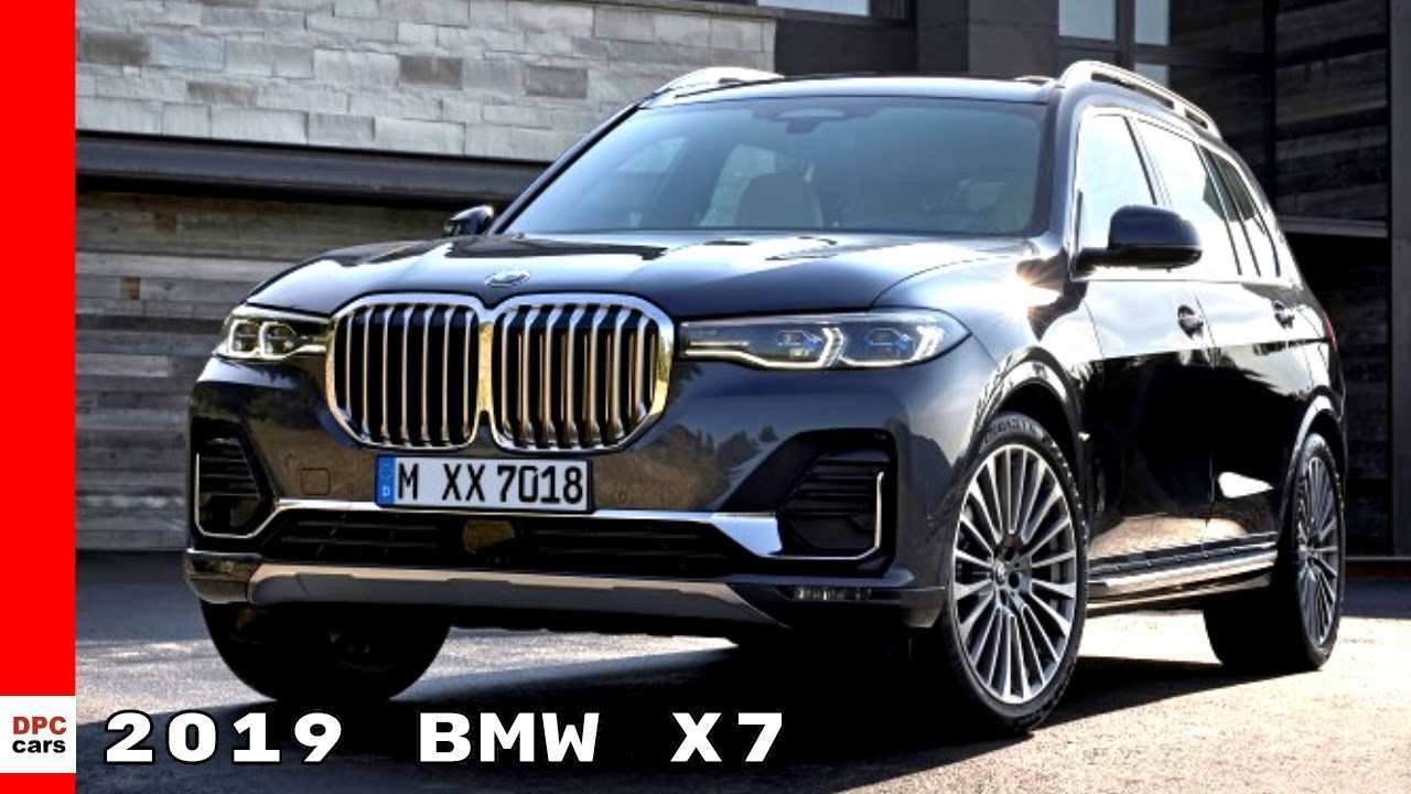 34 The Best 2019 BMW X7 Suv Series Redesign