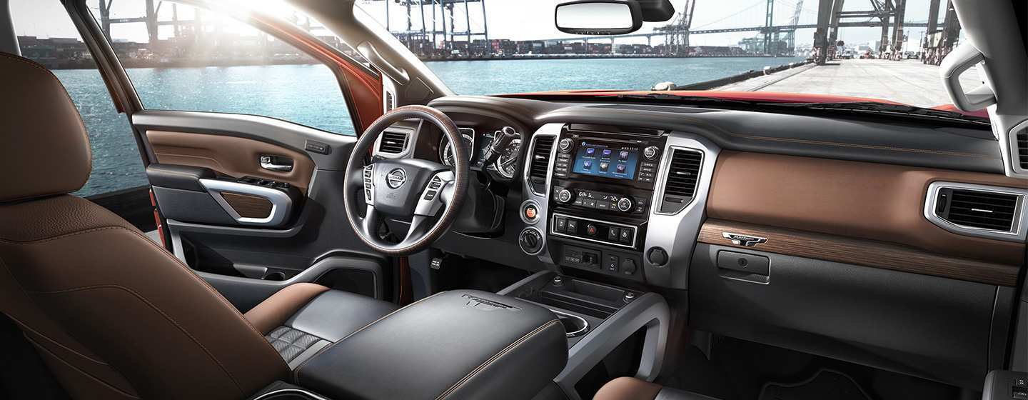 34 The Best 2019 Nissan Titan Interior Overview