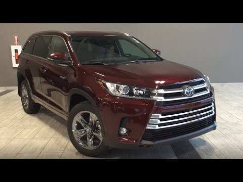 34 The Best 2019 Toyota Highlander Release Date And Concept