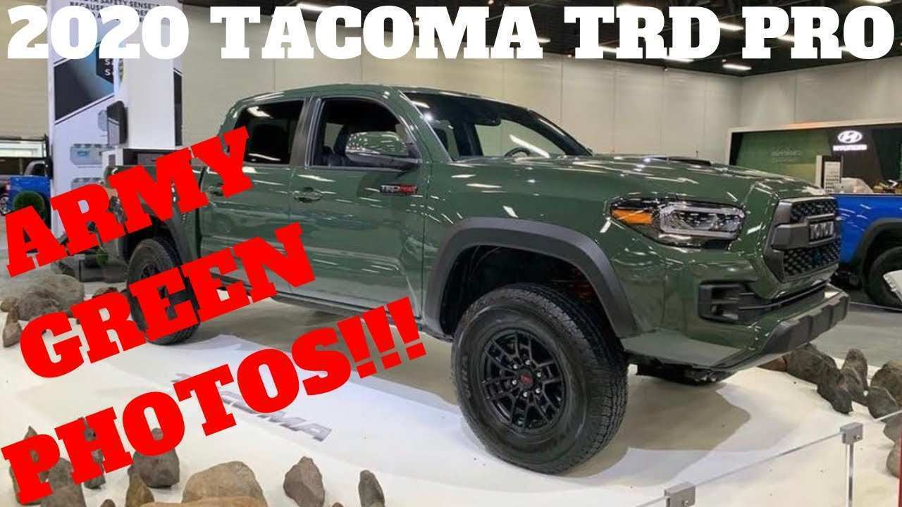 34 The Best Toyota Tacoma 2020 Colors Spesification
