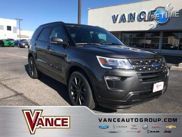 35 A 2019 Ford Explorer Sports Overview