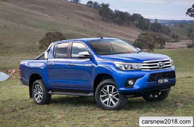 35 A 2019 Toyota Hilux Spy Shots Price Design And Review