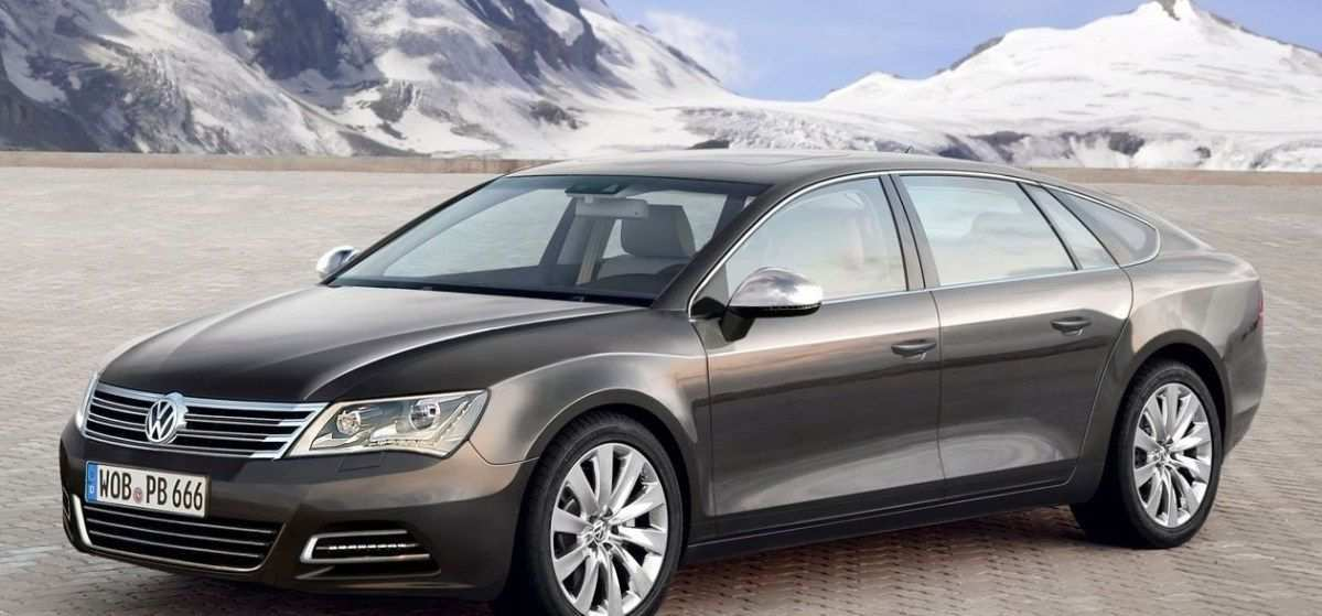 35 A 2019 VW Phaeton Redesign And Concept