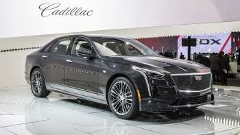 35 A 2020 Cadillac Ct6 V Pictures