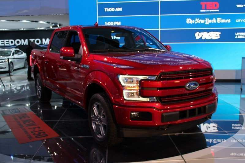 35 A 2020 Ford F150 Ratings