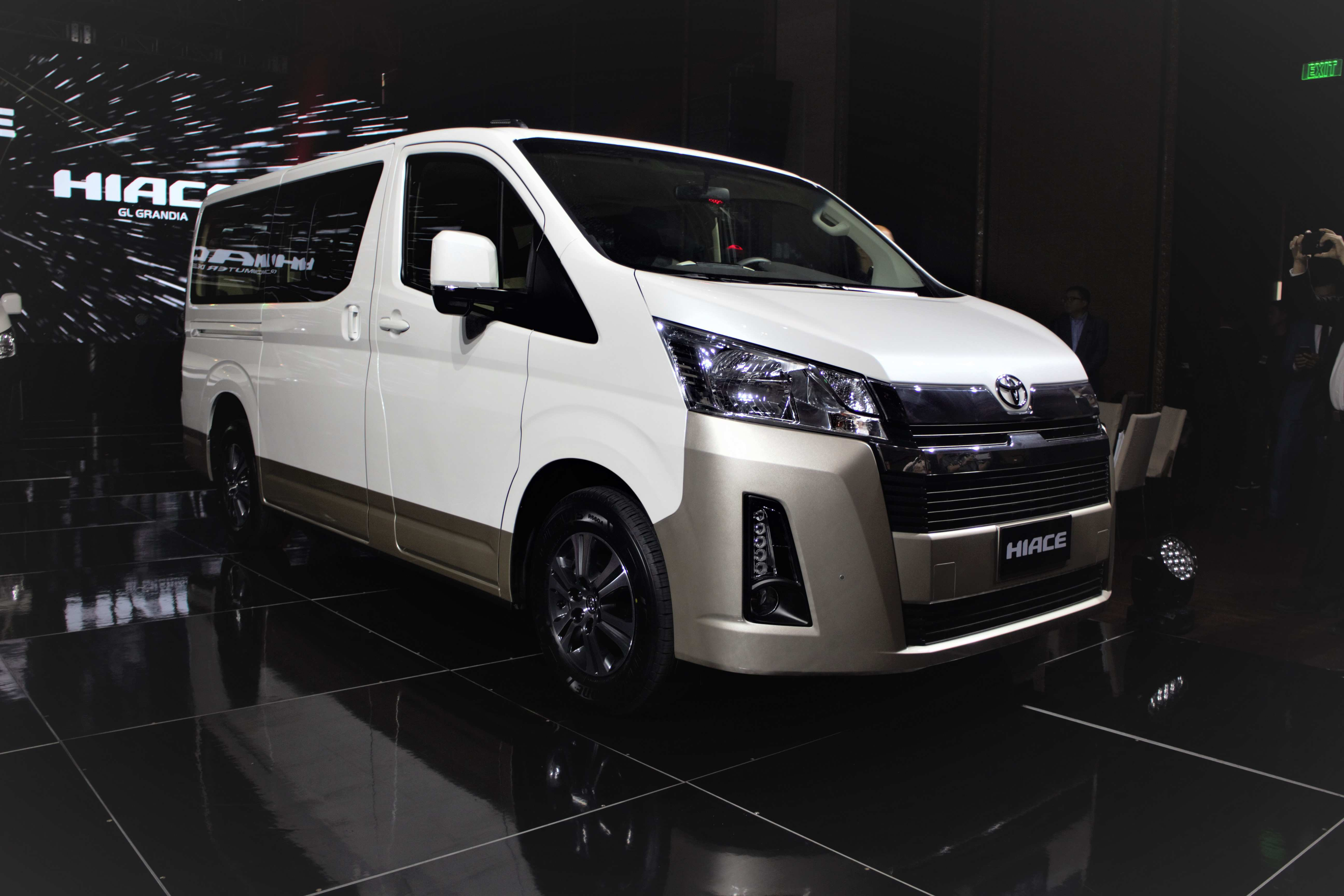 35 A 2020 Toyota Hiace New Concept
