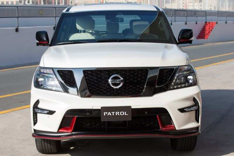 35 A New Nissan Patrol 2019 Spy Shoot