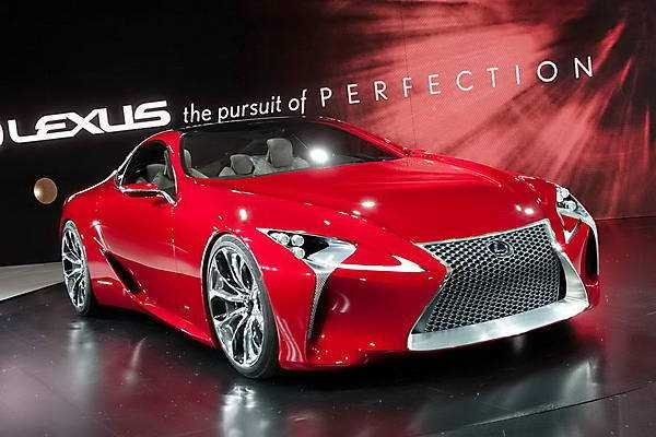 35 All New 2019 Lexus Lf Lc Redesign And Review