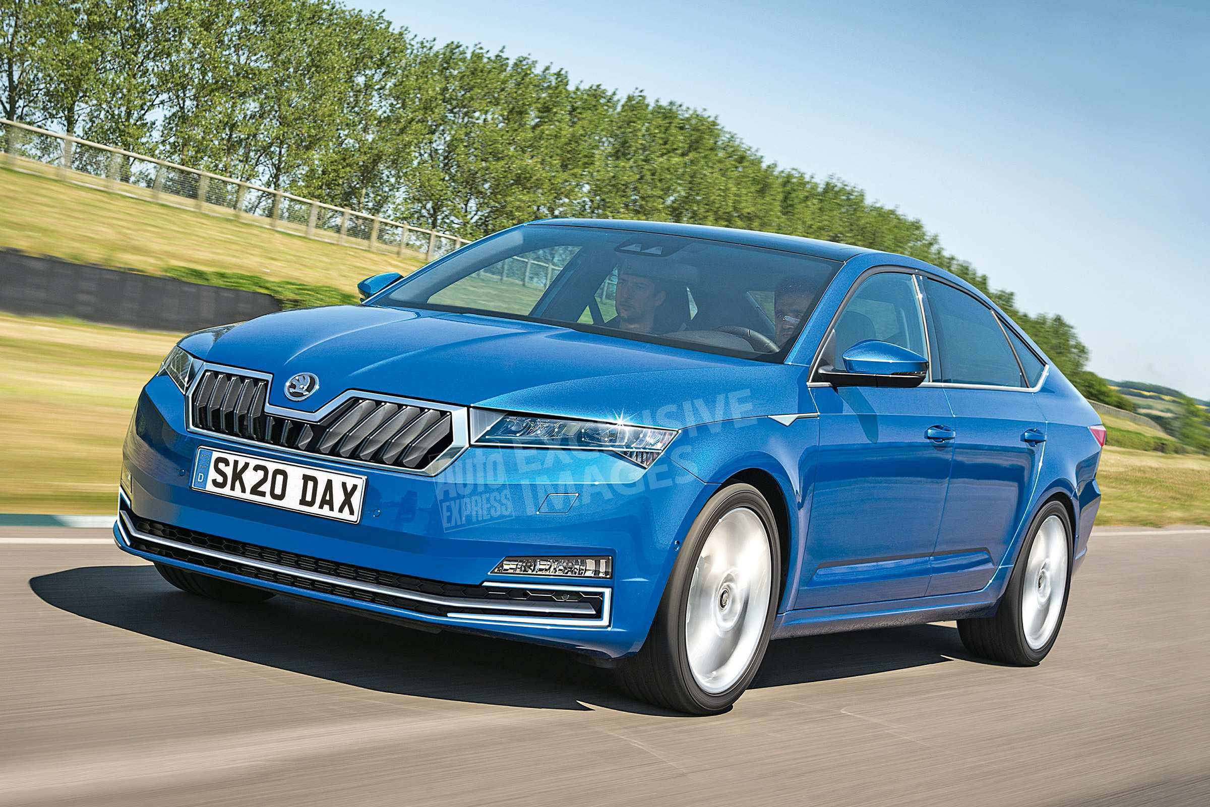 35 All New 2019 New Skoda Superb Concept