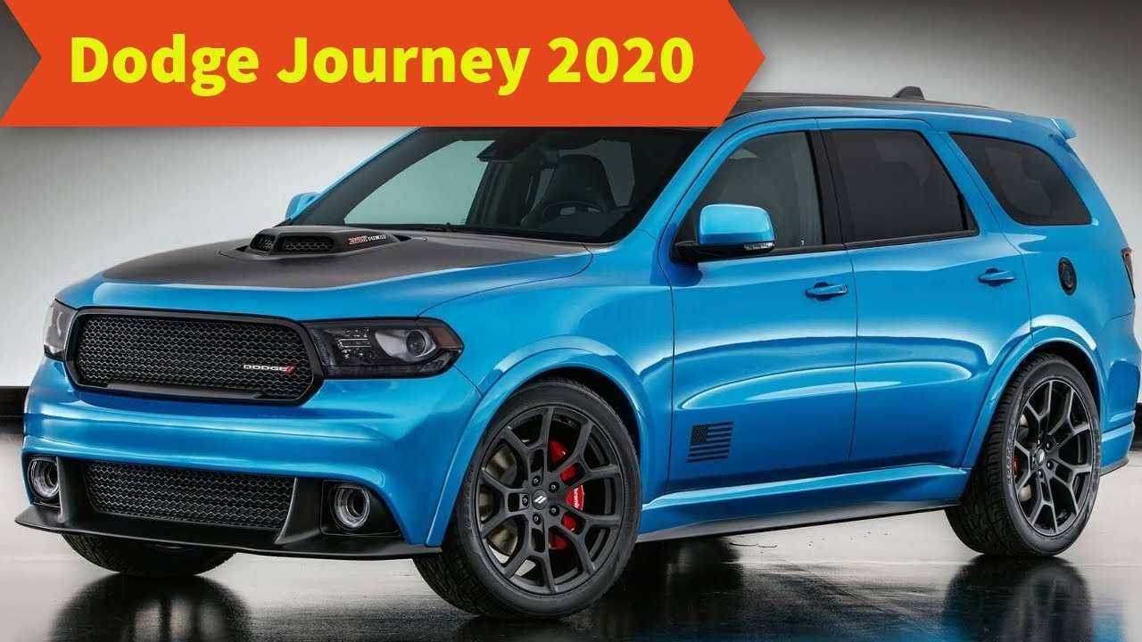 35 All New 2020 Dodge Journey Srt First Drive
