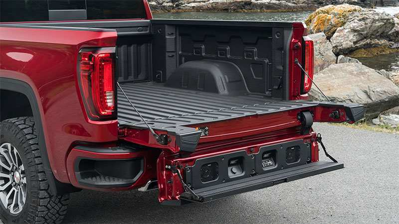 35 All New 2020 GMC Sierra Tailgate Configurations