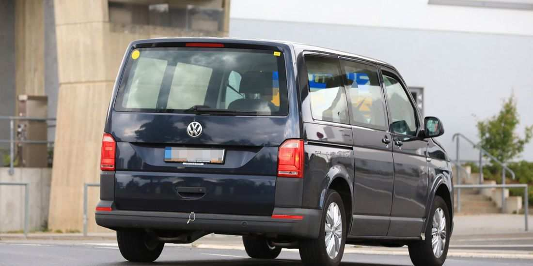 35 All New 2020 VW Transporter Model