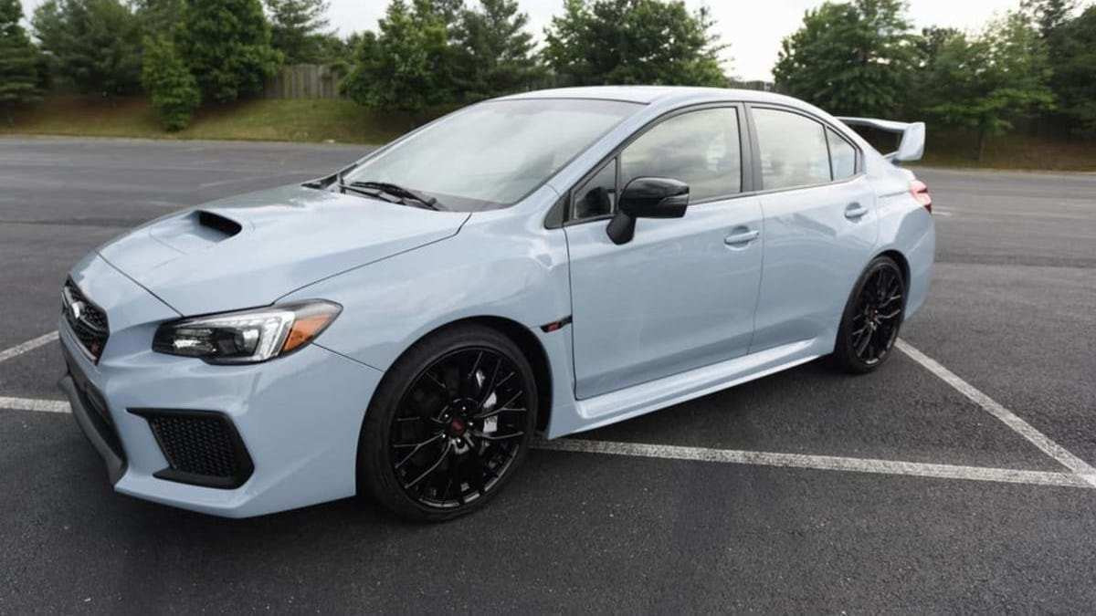 35 All New Subaru Wrx 2019 Release Date Picture
