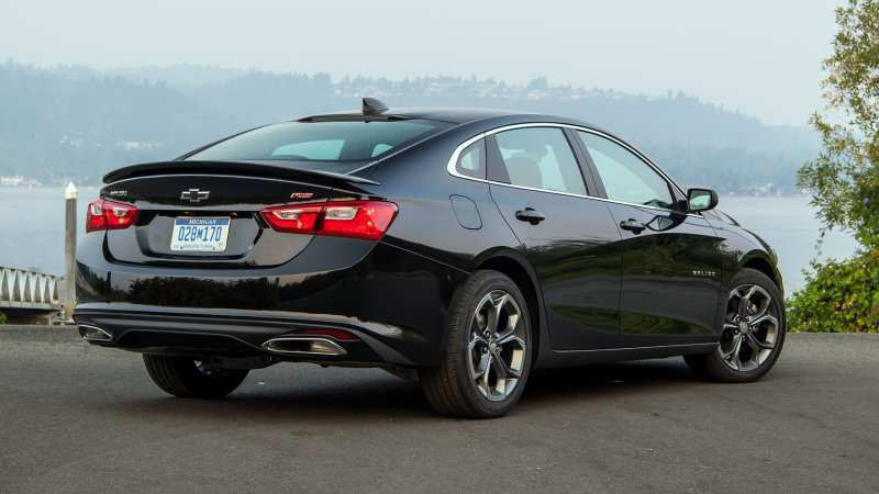 35 New 2019 Chevrolet Malibu First Drive