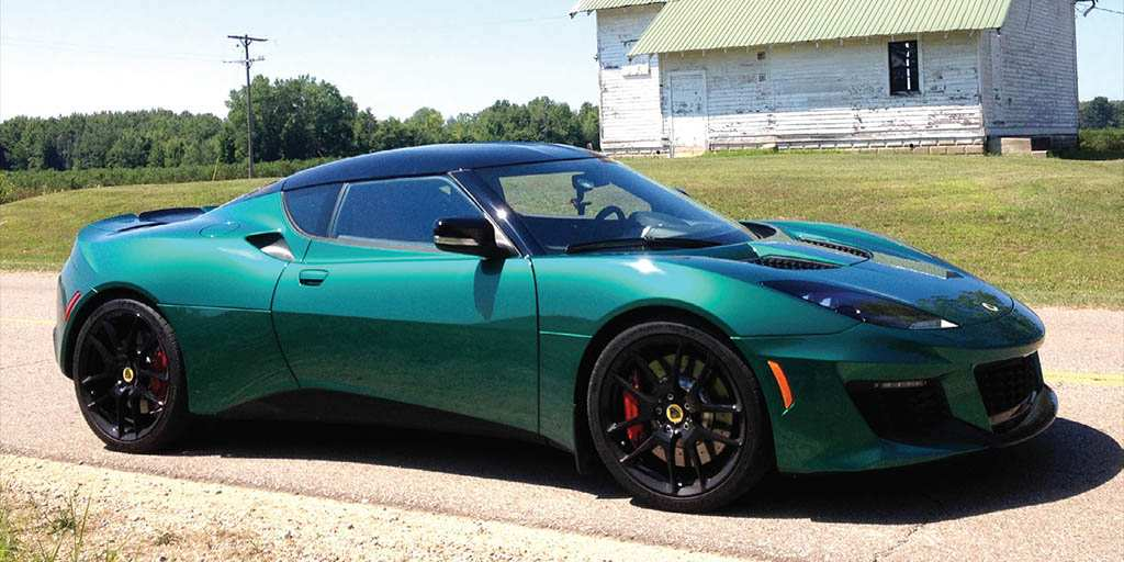 35 The 2019 Lotus Evora First Drive
