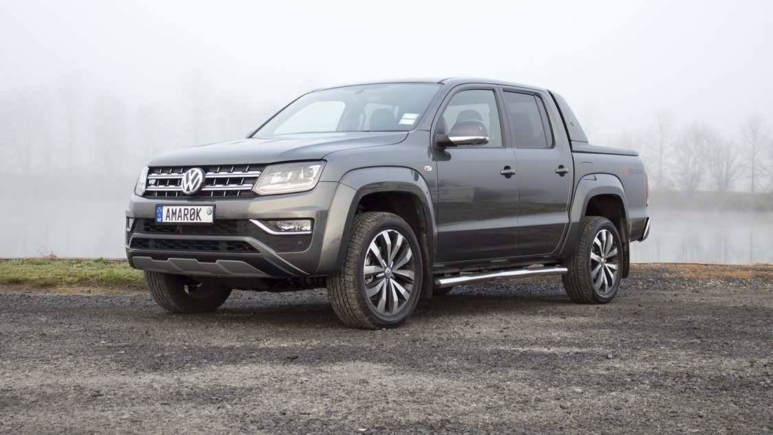 35 The 2019 VW Amarok Spy Shoot