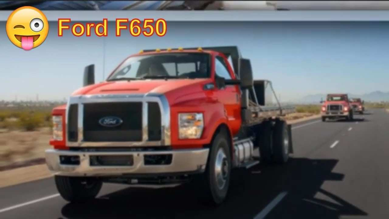 35 The 2020 Ford F650 Images