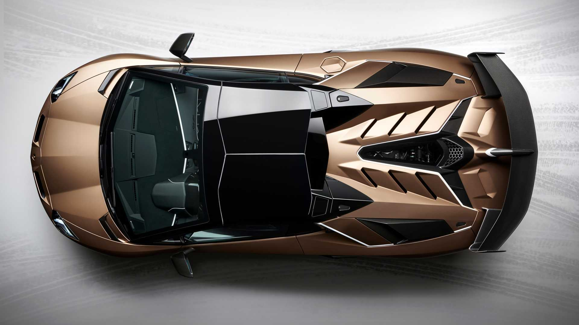 35 The 2020 Lamborghini Aventador Photos