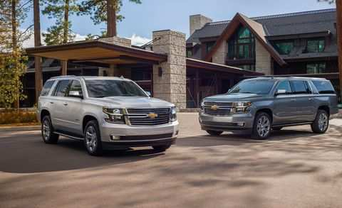 35 The Best 2019 Chevy Tahoe Ltz Exterior And Interior