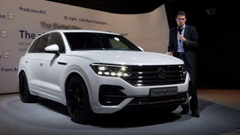 35 The Best 2019 VW Touareg Spy Shoot