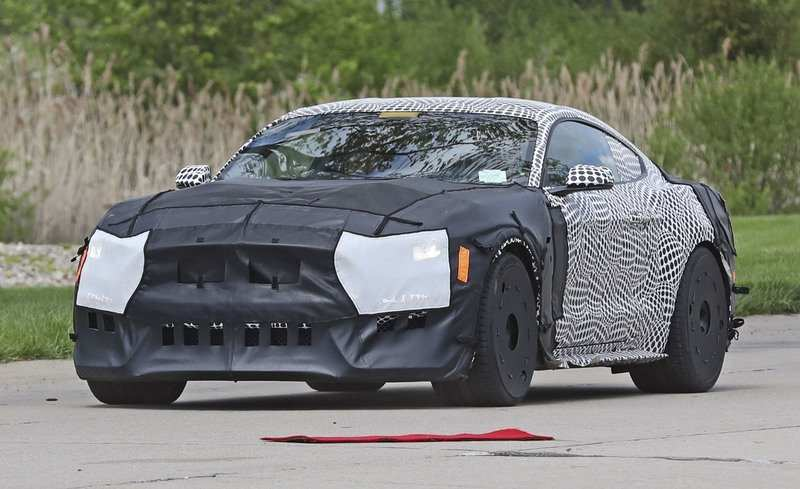 35 The Best 2020 The Spy Shots Ford Mustang Svt Gt 500 Pictures