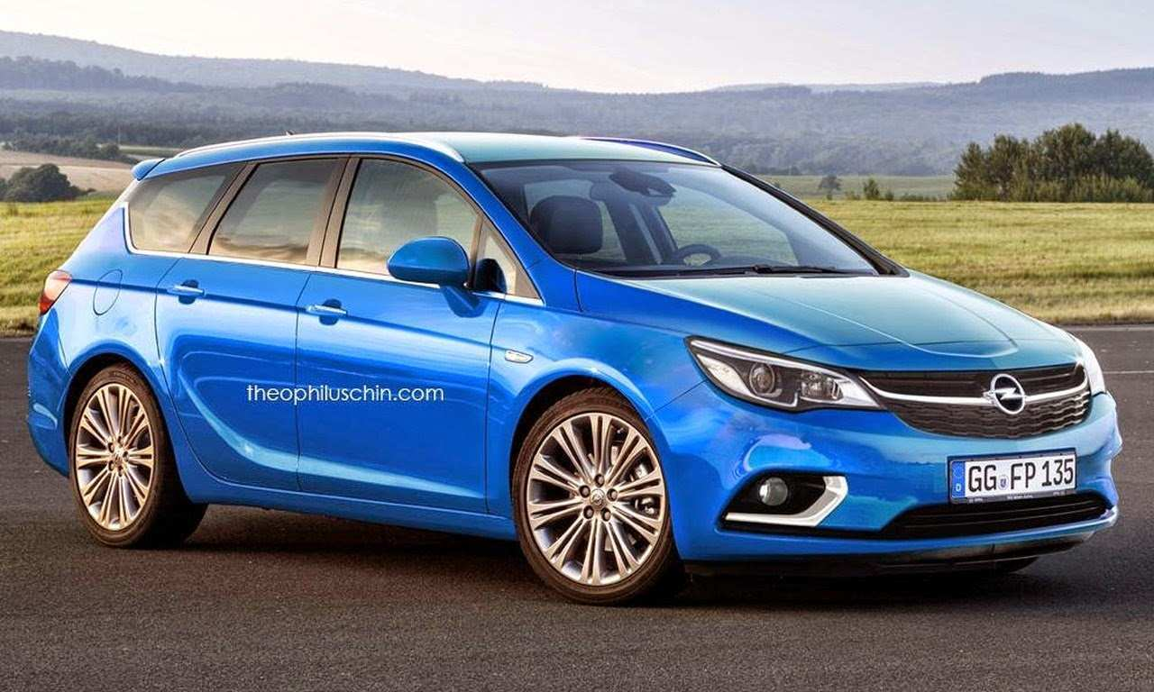35 The Opel Astra K Sports Tourer 2020 Pictures