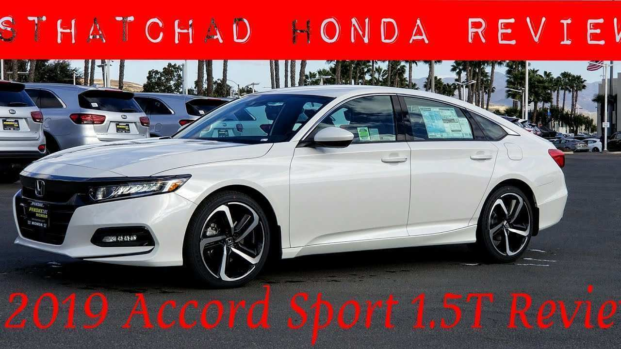 36 A 2019 Honda Accord Sport Wallpaper