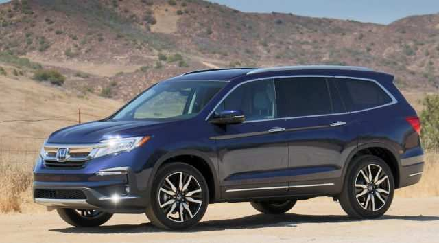 36 A 2019 Honda Pilot Spesification