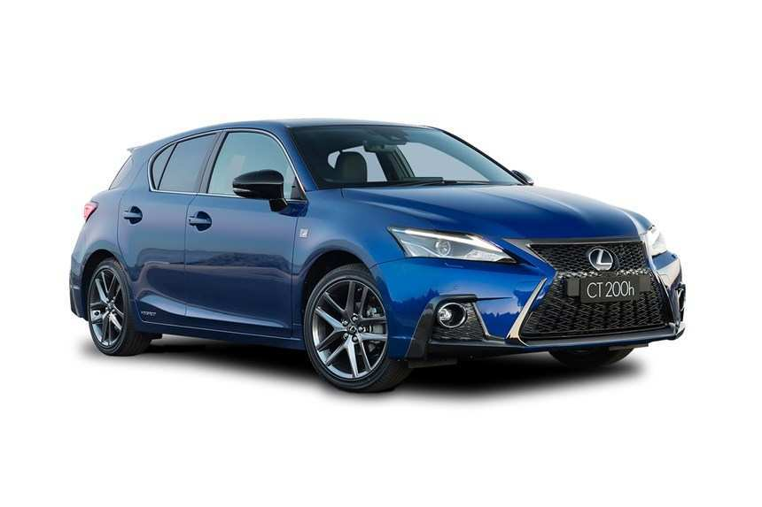 36 A 2019 Lexus CT 200h New Concept