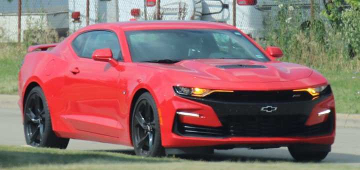 36 A 2019 The Camaro Ss Pictures