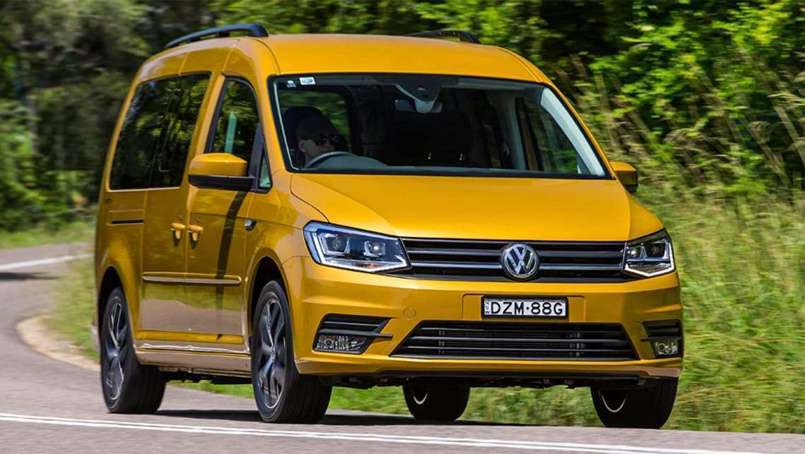 36 A 2019 VW Caddy Overview