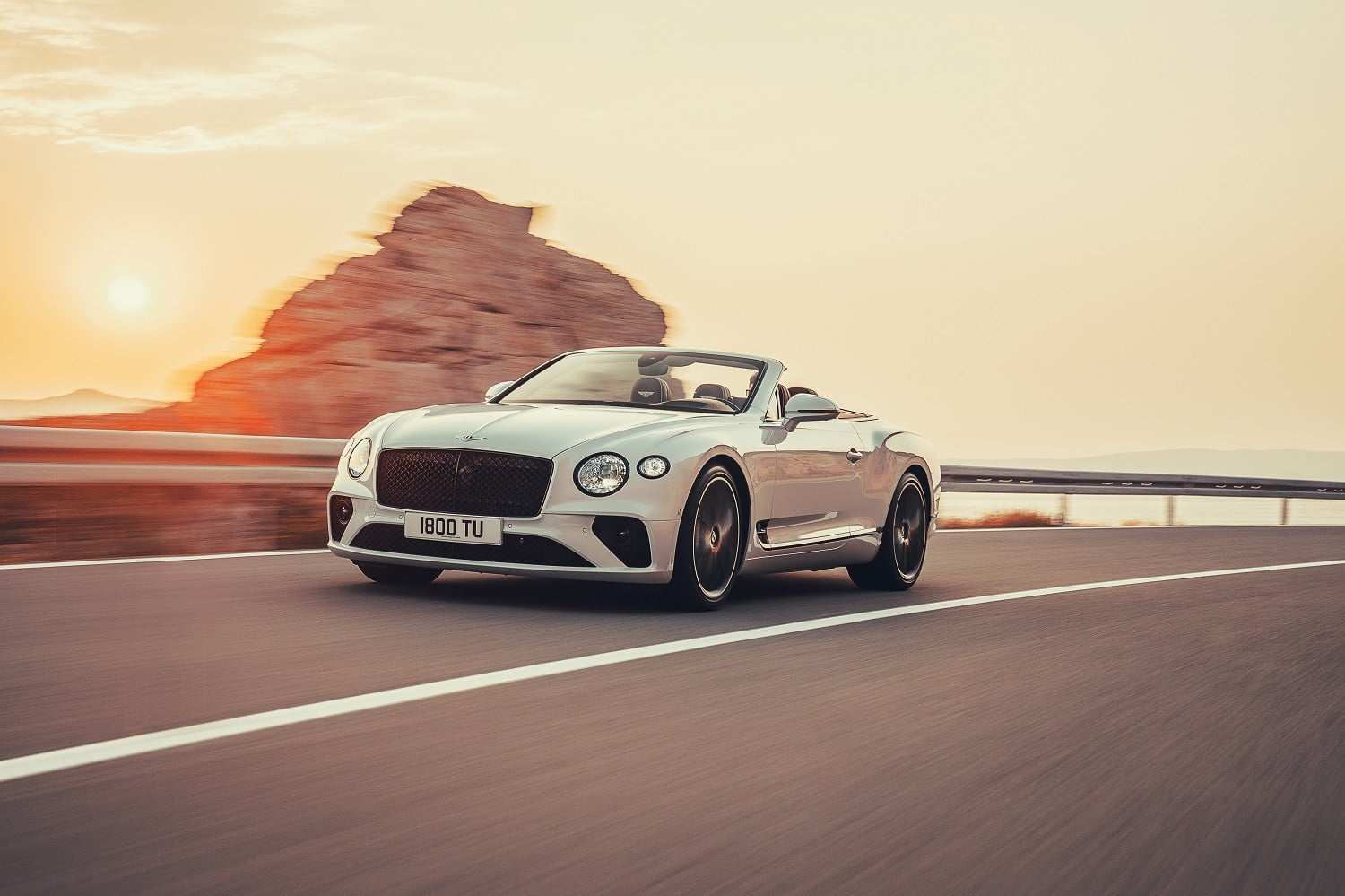 36 A 2020 Bentley Continental GT Spy Shoot