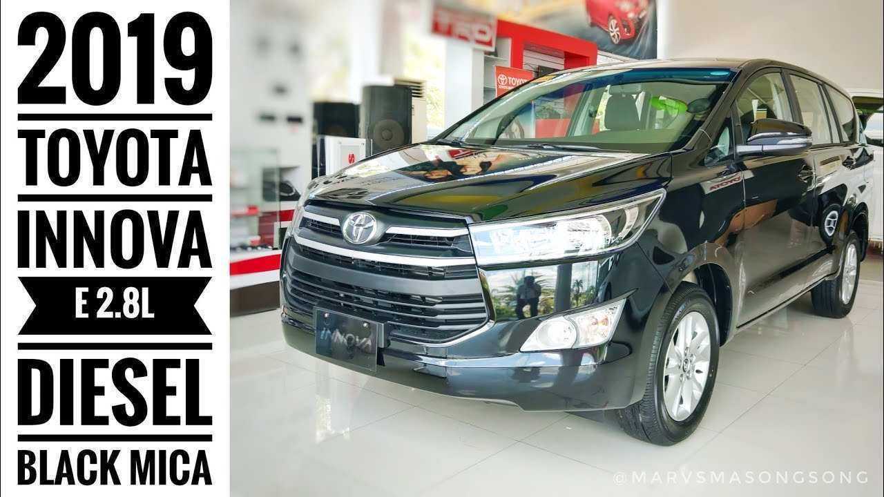 36 A Toyota Innova 2019 Philippines Research New