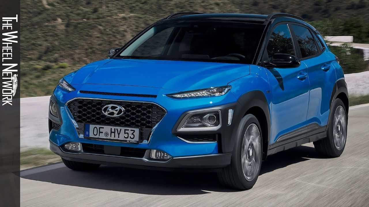 36 All New 2020 Hyundai Kona Hybrid Spy Shoot