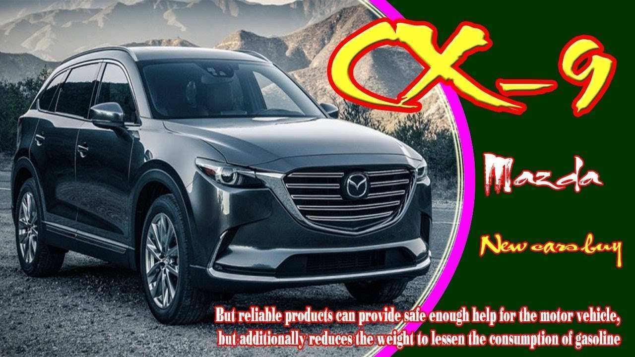 36 All New 2020 Mazda Cx 9 Rumors Spy Shoot