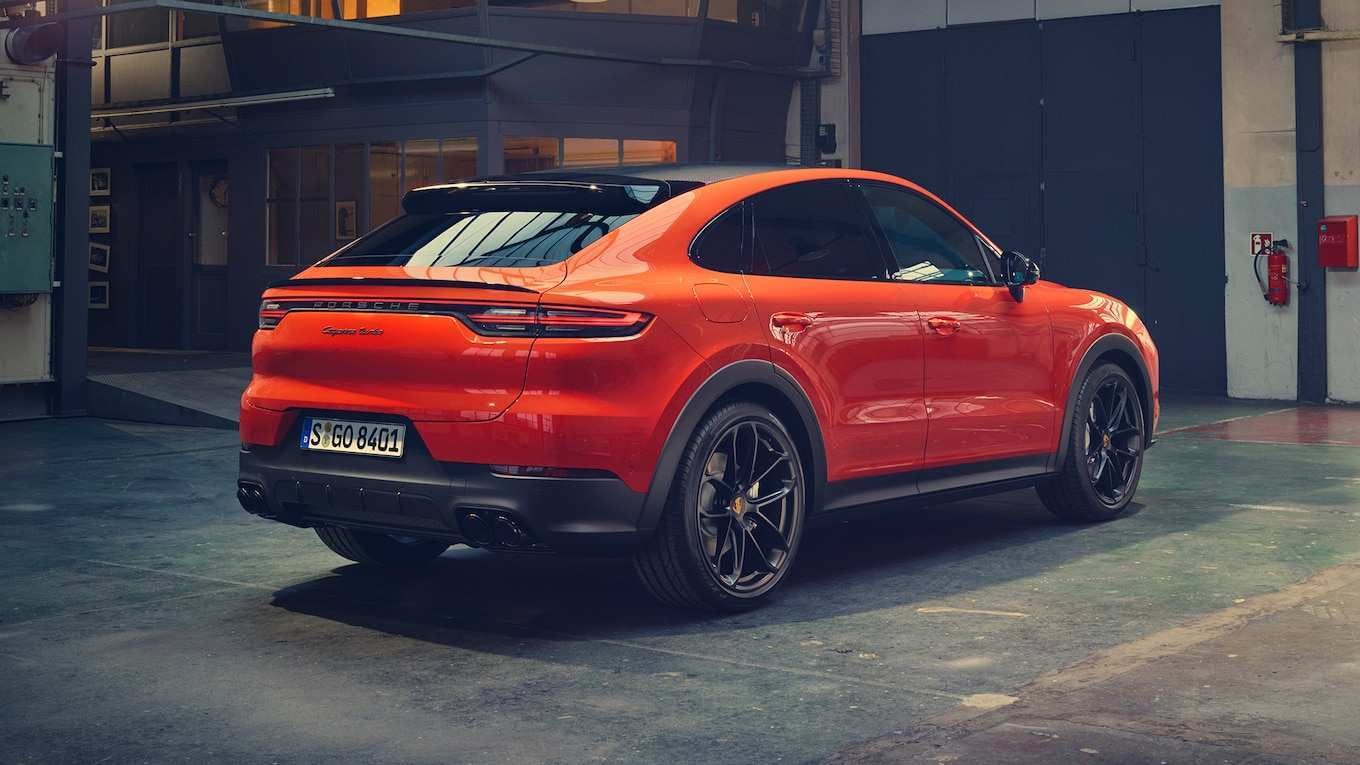 36 All New 2020 Porsche Cayenne Turbo S First Drive