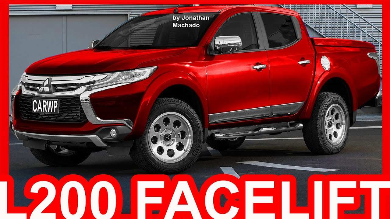 36 All New Mitsubishi L200 4X4 2020 New Model And Performance