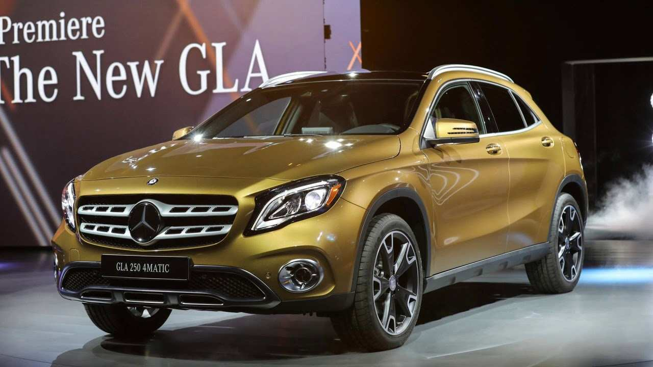 36 Best Mercedes Gla 2019 Interior Redesign And Review