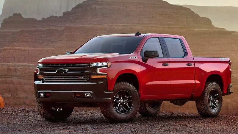 36 New 2019 Chevy Silverado 1500 Images