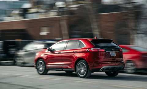 36 New 2019 Ford Edge Spy Shoot