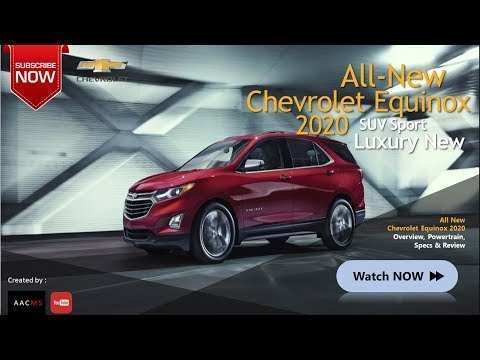 36 New 2020 All Chevy Equinox Price And Review