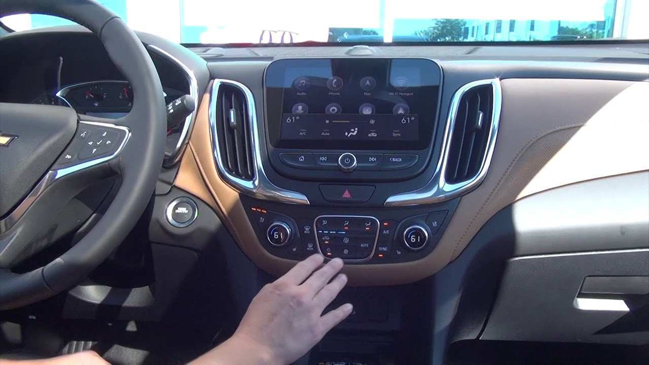 36 The 2019 Chevy Equinox Interior