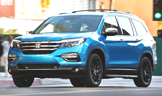 36 The 2019 Honda Pilot Spy Specs