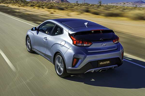 36 The 2019 Hyundai Veloster First Drive