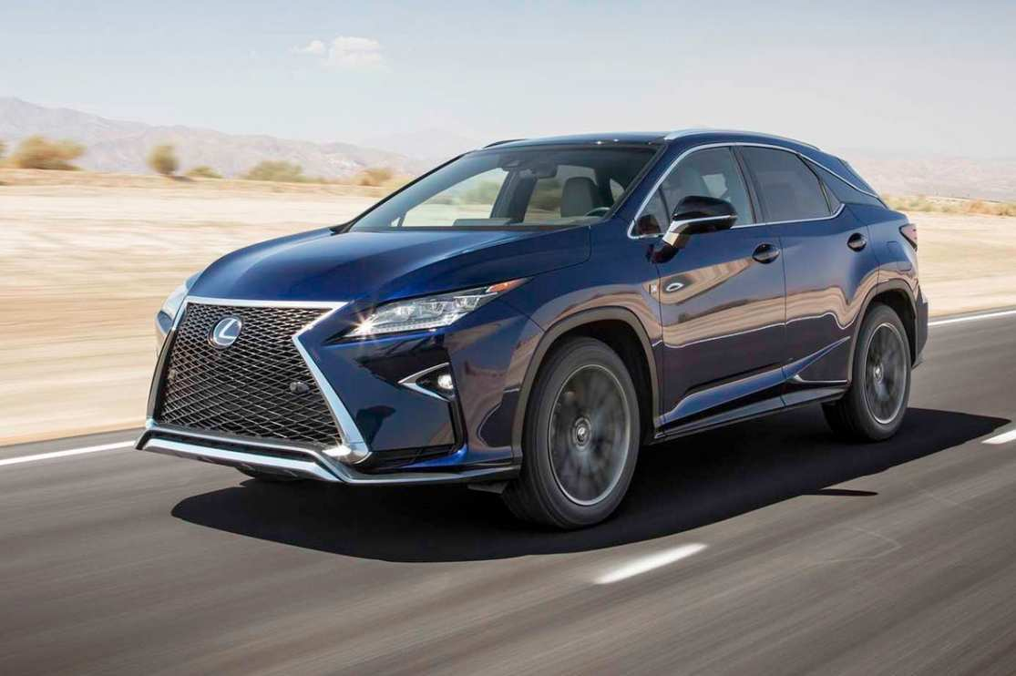 36 The 2020 Lexus TX Configurations