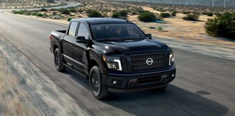 36 The 2020 Nissan Titan Spy Shoot