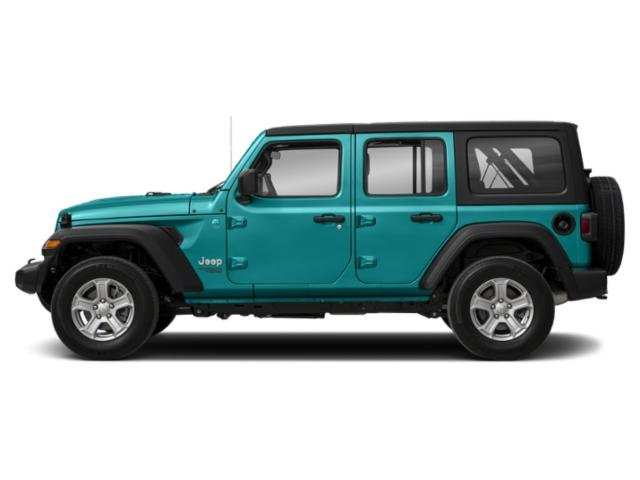 37 A 2019 Jeep Wrangler Unlimited Engine