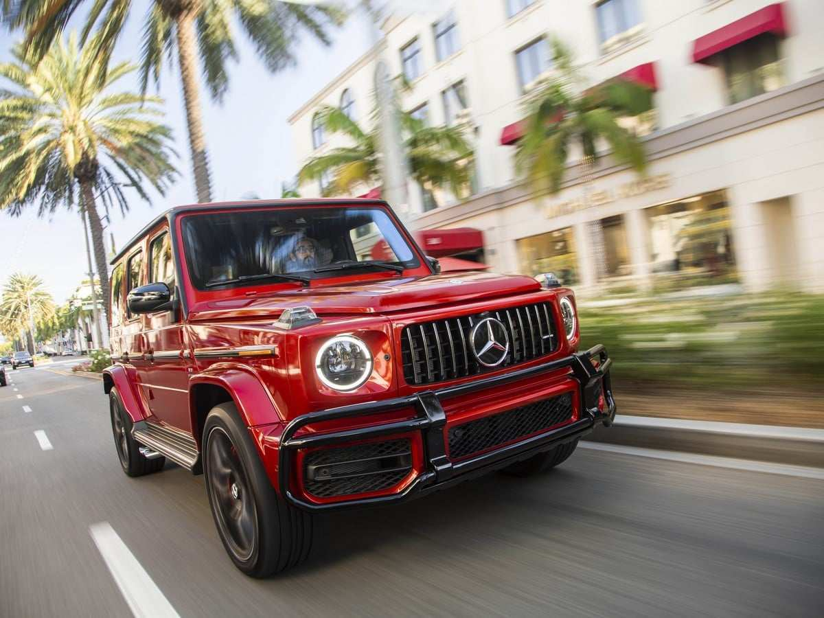 37 A G550 Mercedes 2019 Concept And Review