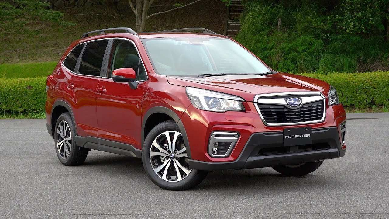 37 A Subaru Forester 2019 News History